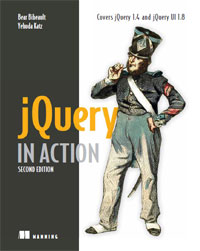 Обложка книги jQuery in Action, Second Edition